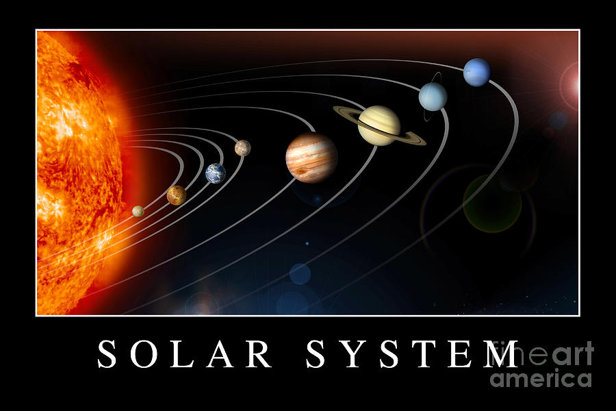 solar system poster - photo #2