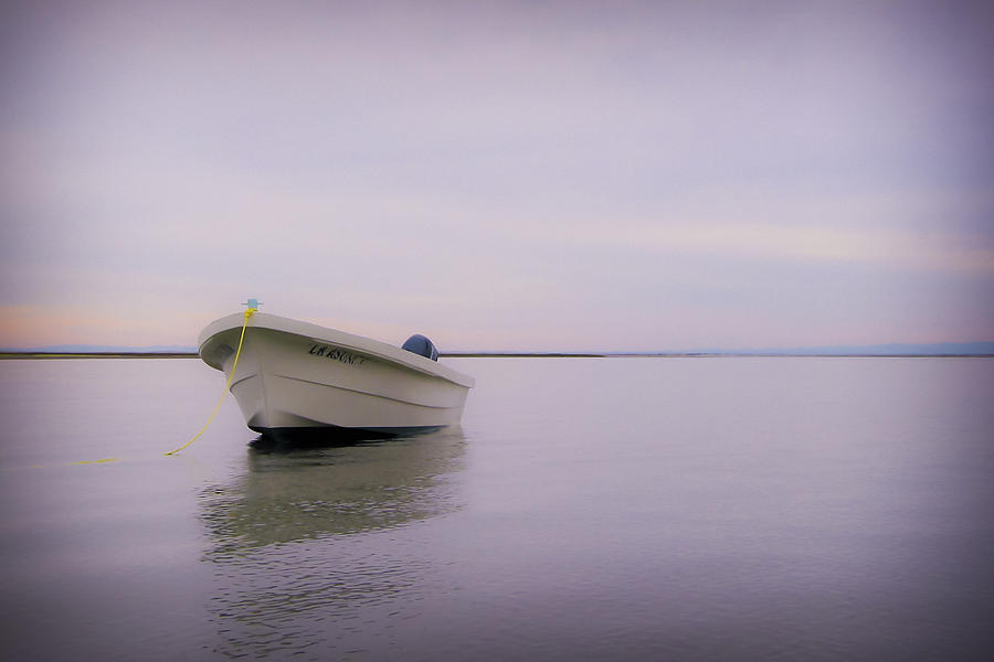 Solitary Boat Photograph