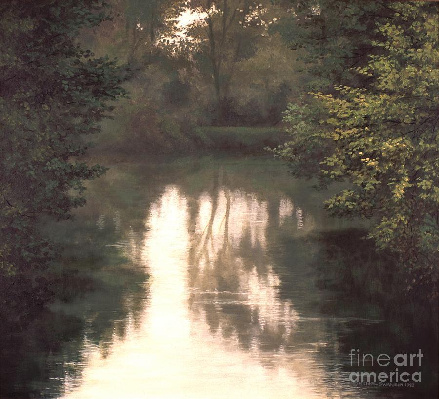 Landscape Painting - Solitude by Michael Swanson