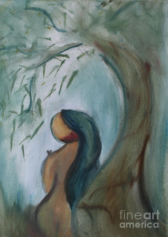 Landscape Painting - Solitude by Teresa Hutto