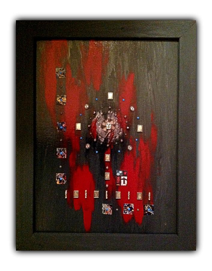 Mixed Media - Solstice by Schroder Konate