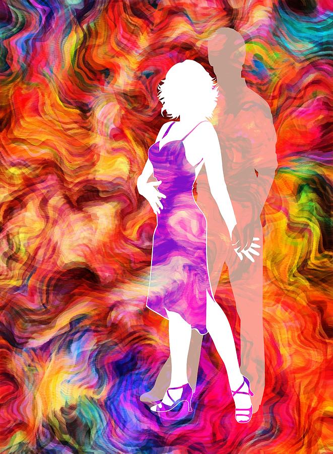 Some Like It Hot 2 Mixed Media