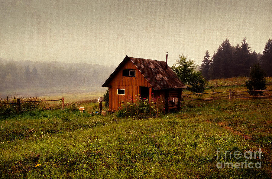 Somewhere In The Countryside. Russia Photograph  - Somewhere In The Countryside. Russia Fine Art Print