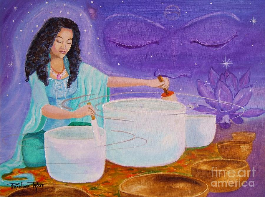 Song Of Inner Peace Painting  - Song Of Inner Peace Fine Art Print
