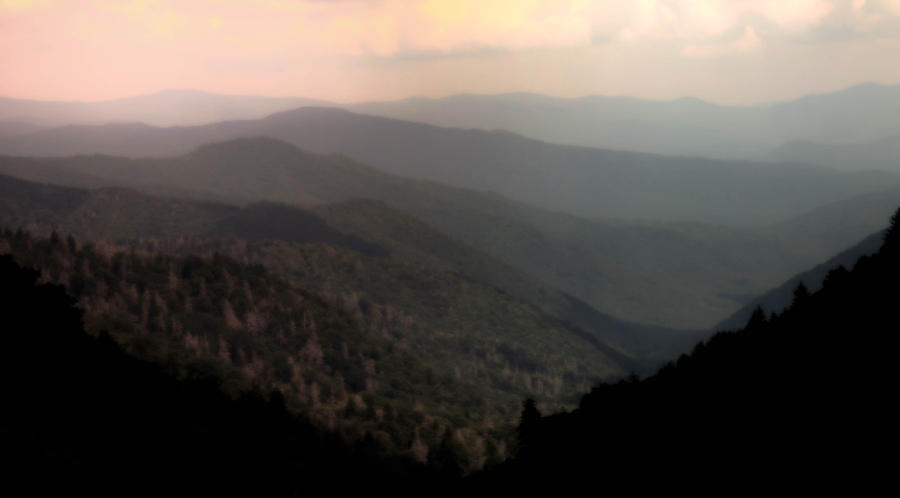 Smokey Mountain National Park Photograph - Song Of Serenity by Karen Wiles