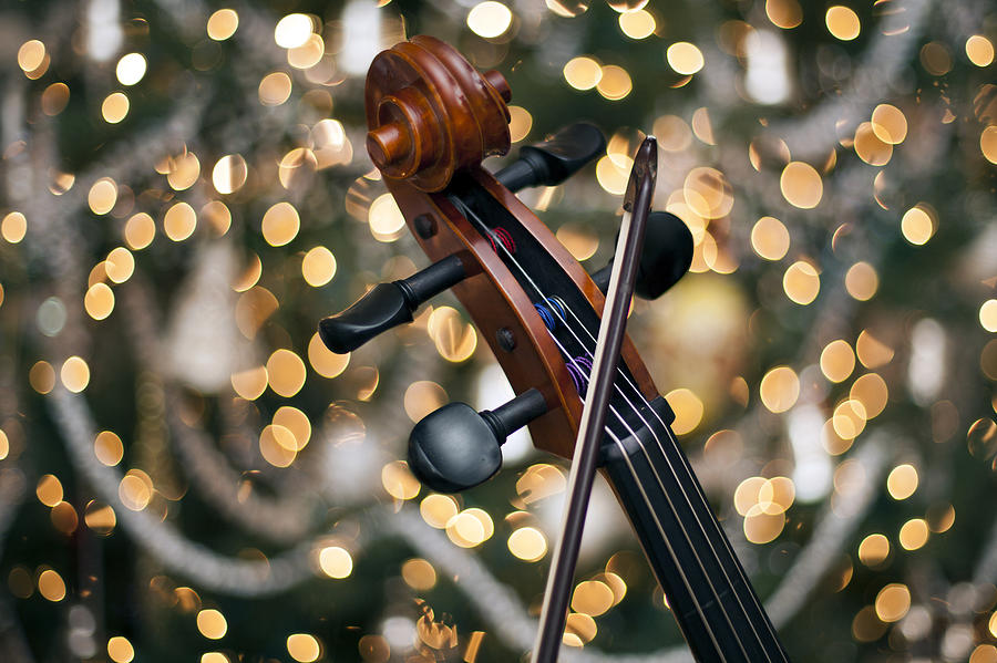 Cello Photograph - Songs Of Joy by Edward Kreis
