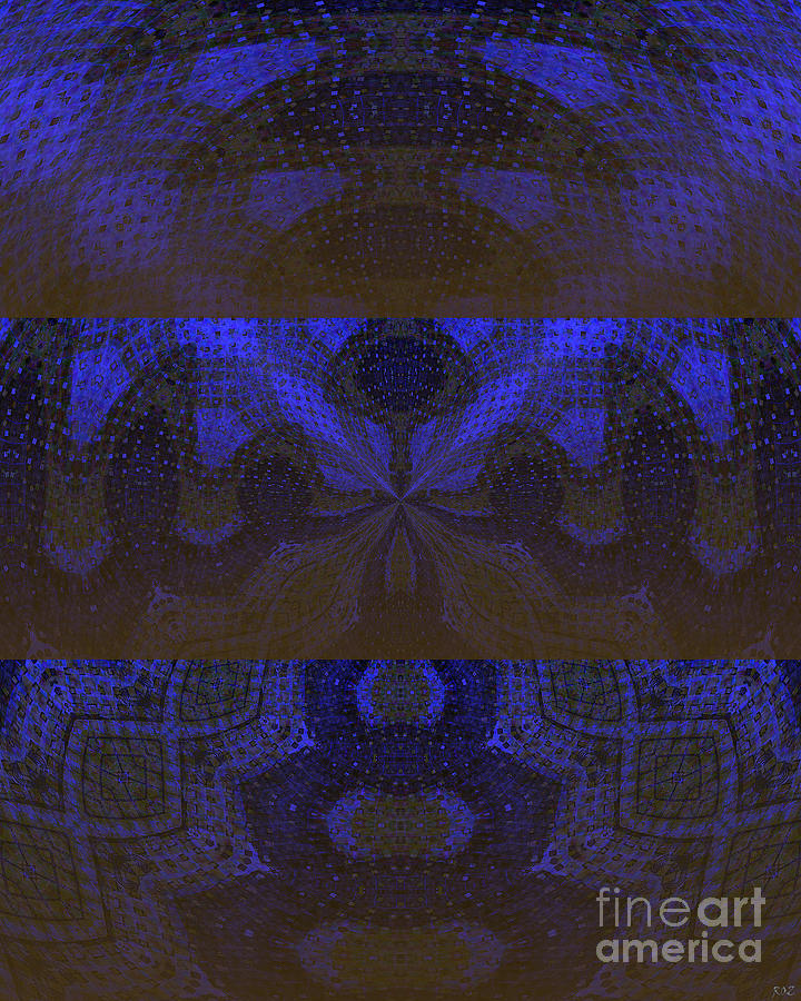 Sonic Temple Digital Art  - Sonic Temple Fine Art Print