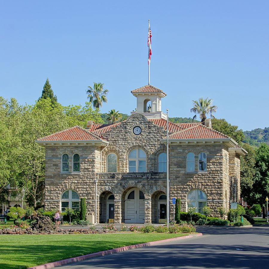 Sonoma City Hall Photograph  - Sonoma City Hall Fine Art Print