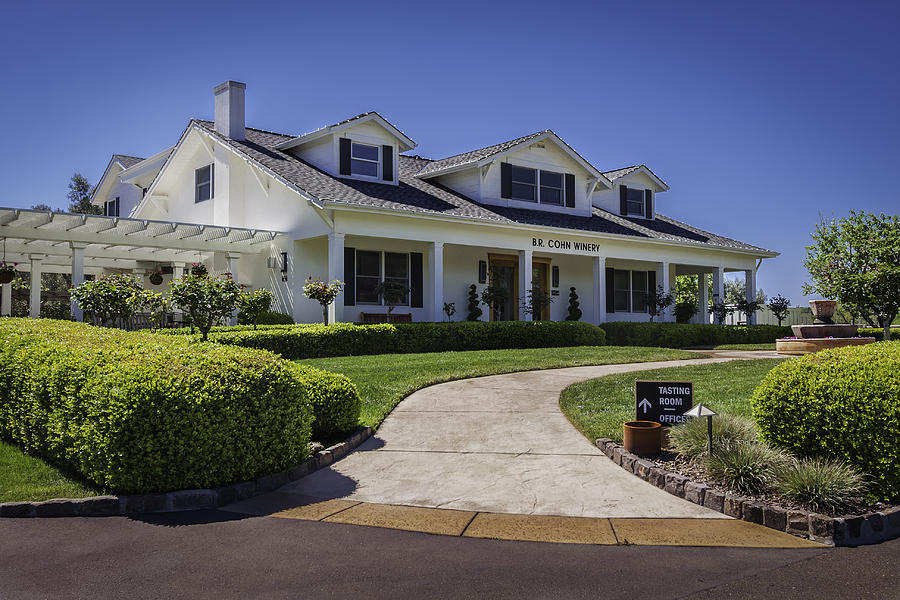 Sonoma Valley Winery Photograph