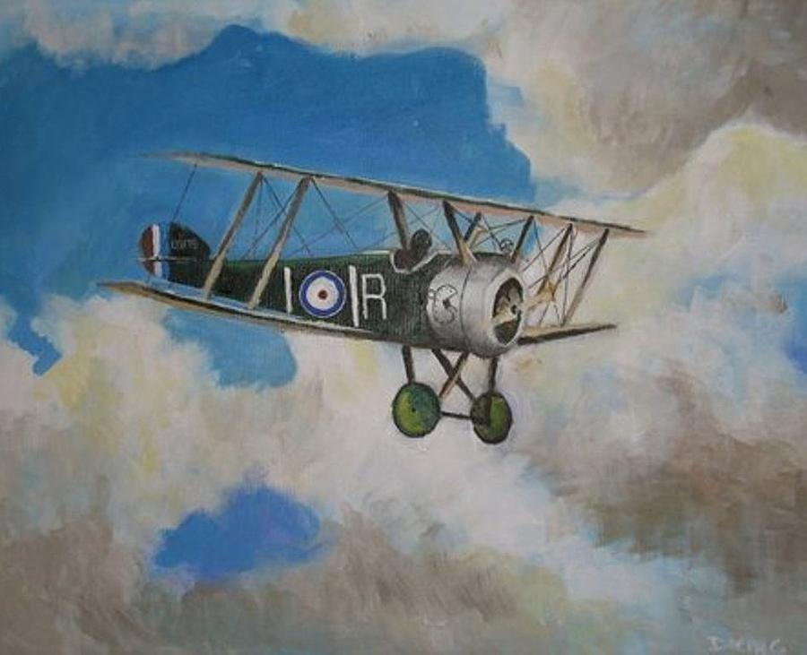 Wwi Painting - Sopwith by Daniel King