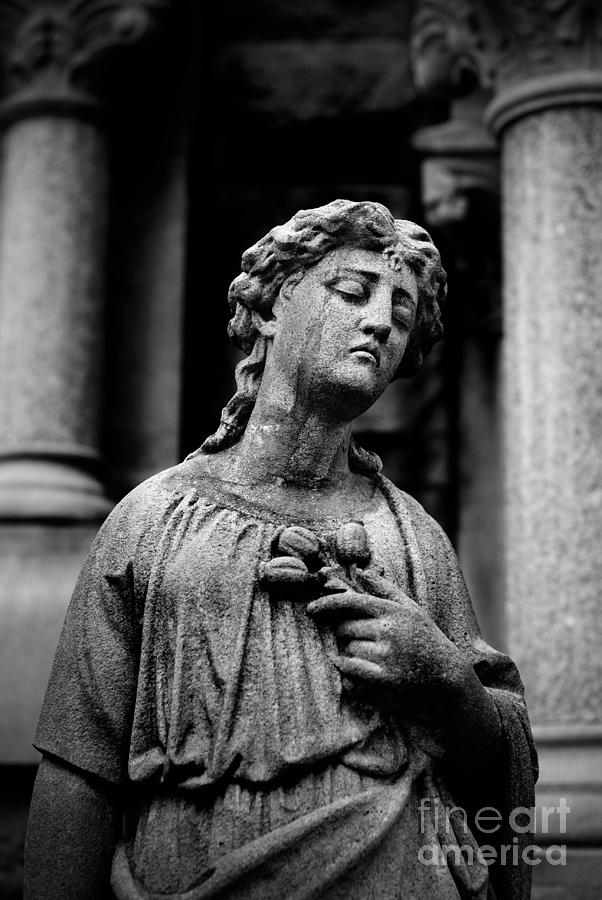 Sorrow Allegheny Cemetery Pittsburgh  Photograph
