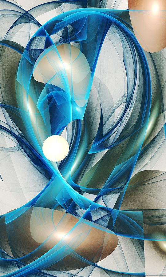 Soul Blueprint Digital Art  - Soul Blueprint Fine Art Print