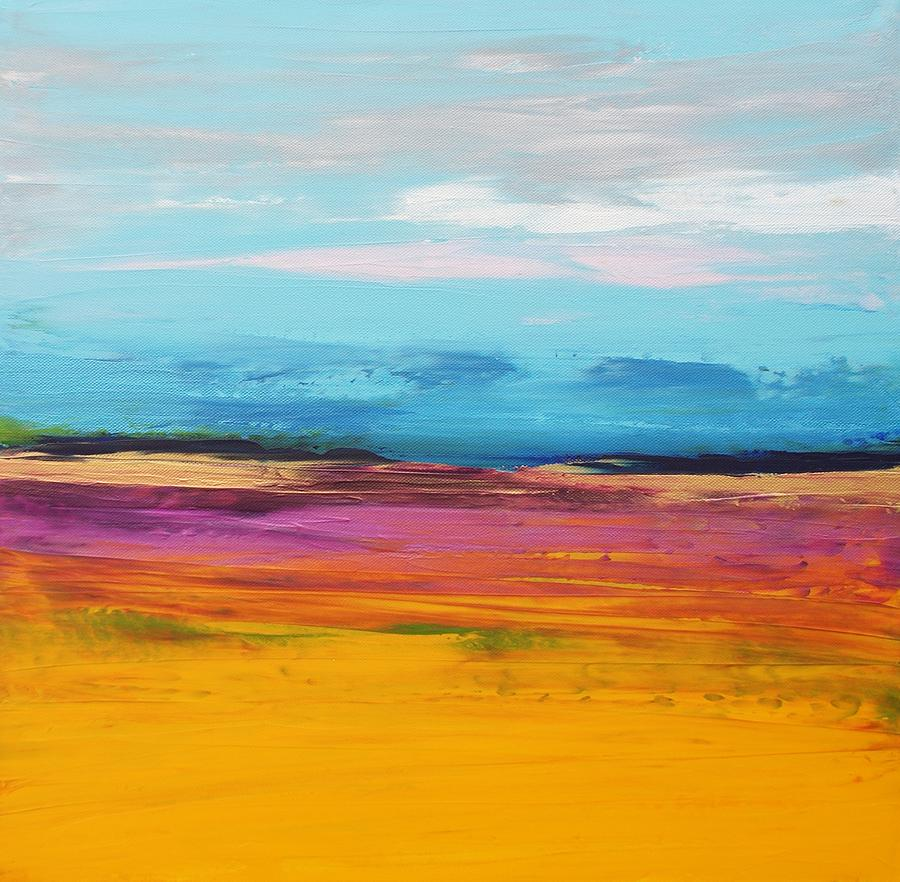 Landscape Painting - Soul Mining by Sally Kelly