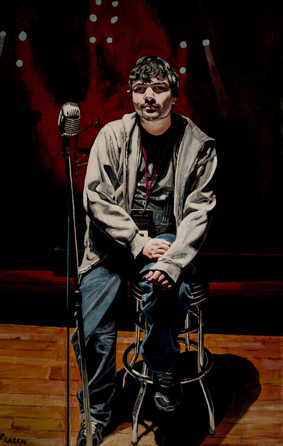 Sound Check Painting  - Sound Check Fine Art Print