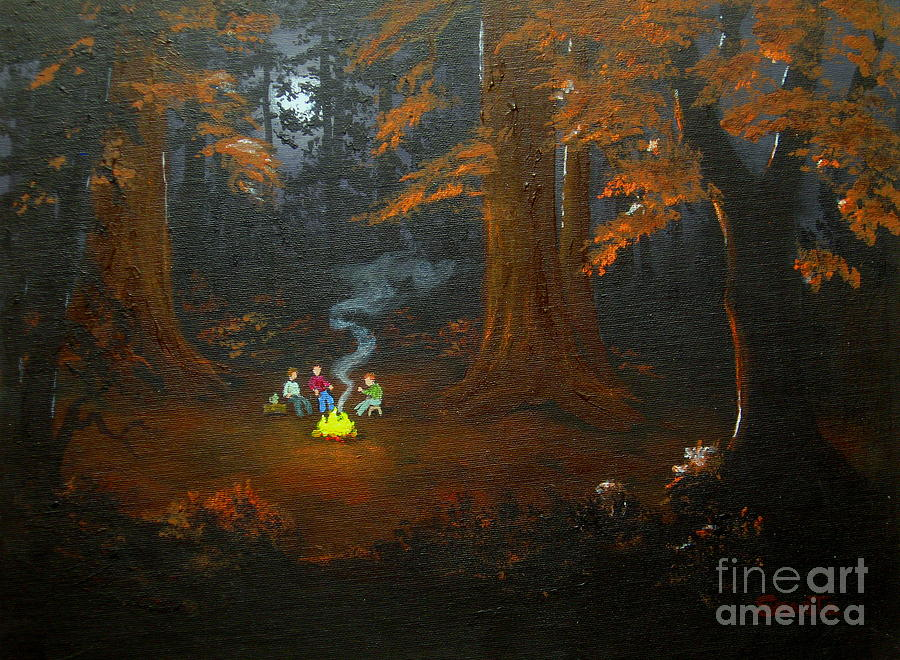 South  Campsite  Company  Painting  - South  Campsite  Company  Fine Art Print