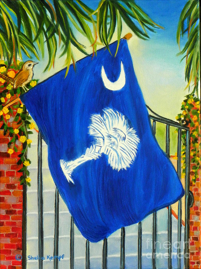 south carolina a state of art painting by shelia kempf