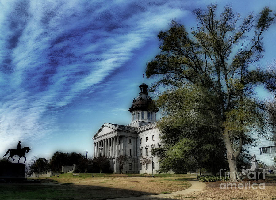South Carolina State House Is A Photograph By Skip Willits Which Was