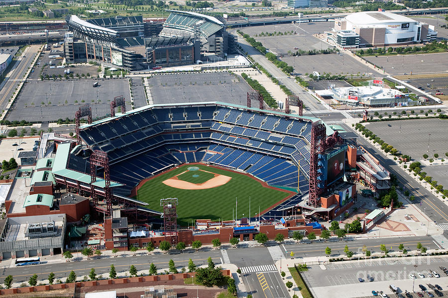 South Philadelphia Sports Complex Philadelphia Pennsylvania Photograph