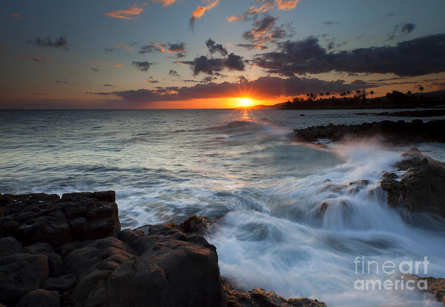 South Shore Waves Photograph  - South Shore Waves Fine Art Print