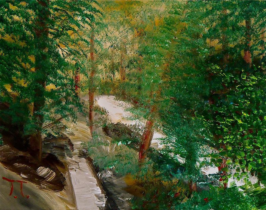 South Trail Cache La Poudre Painting