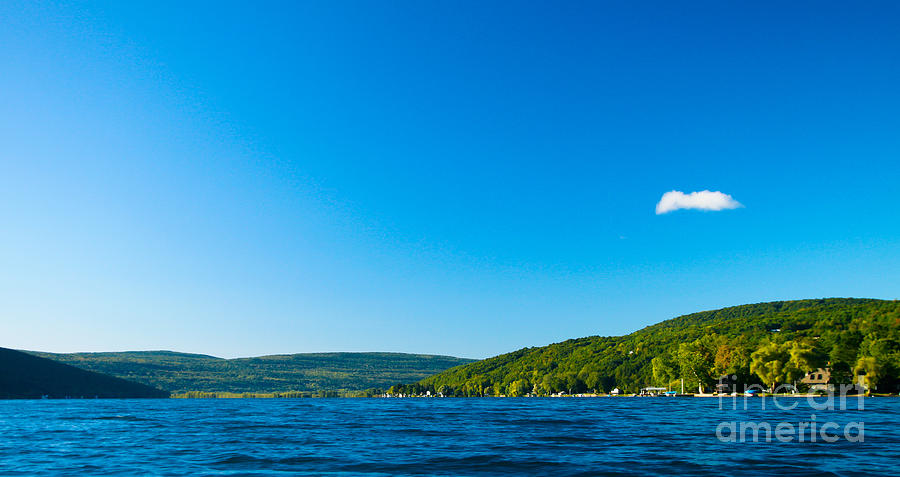 South View Of Canandaigua Lake Photograph  - South View Of Canandaigua Lake Fine Art Print