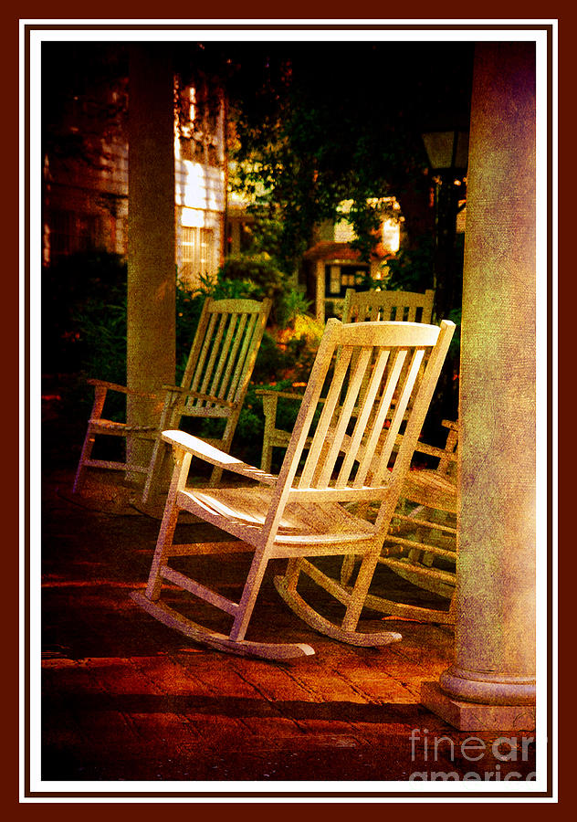 Southern Sunday Afternoon Photograph  - Southern Sunday Afternoon Fine Art Print