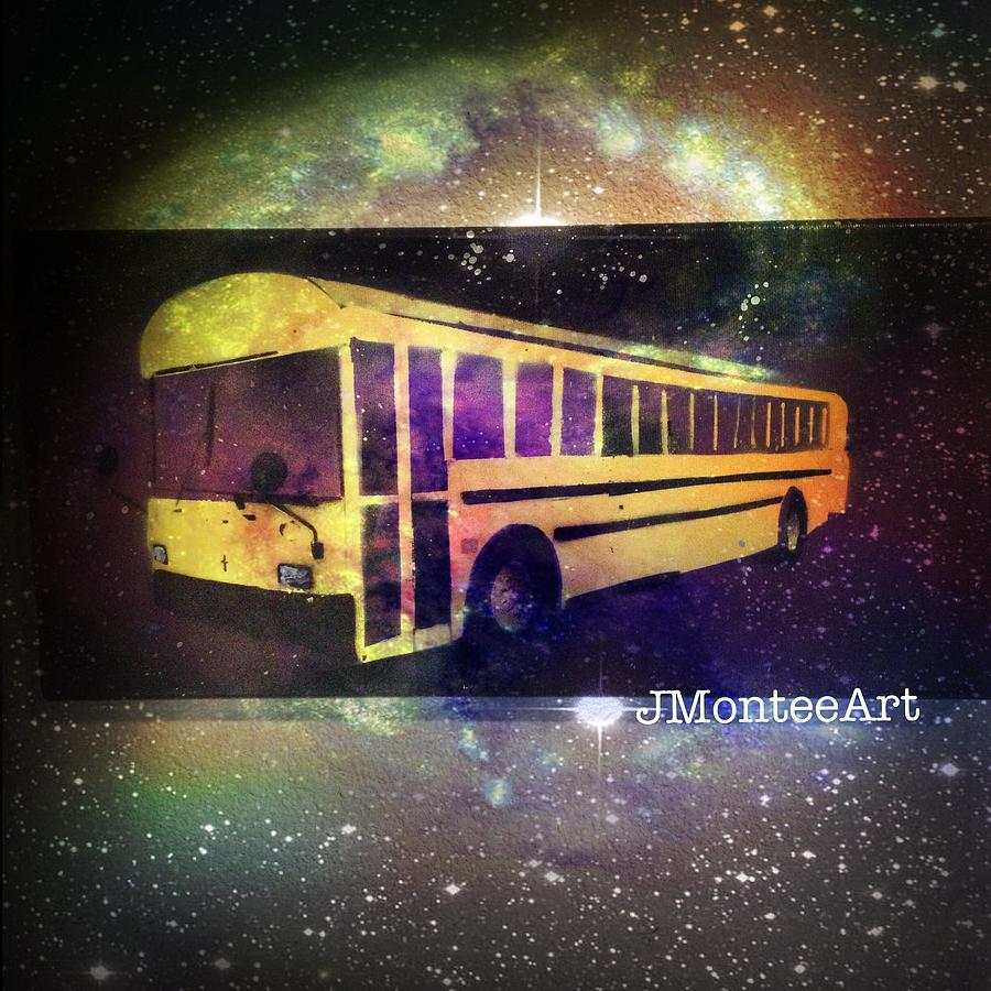Space Bus Painting by JMontee