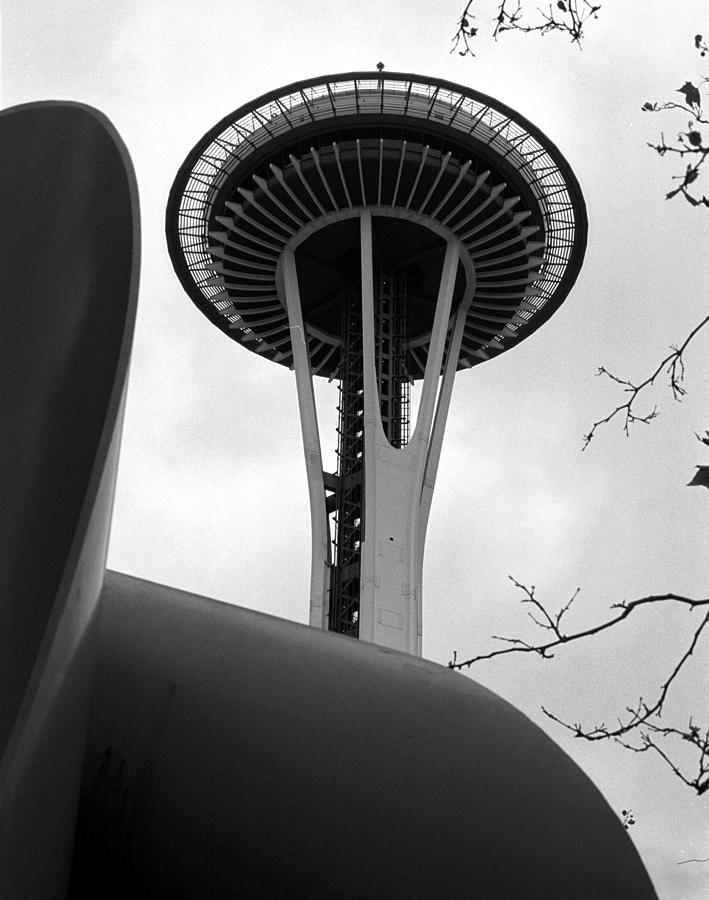 Space Needle Digital Art