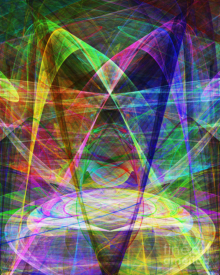 Space Odyssey 20130511v2 Digital Art  - Space Odyssey 20130511v2 Fine Art Print