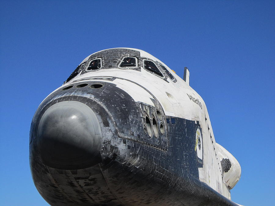 Space Shuttle Atlantis Photograph by Michael Knight