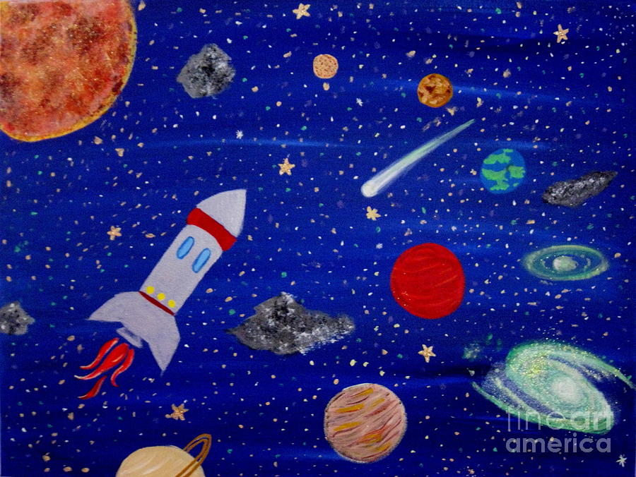Spaced Out Painting