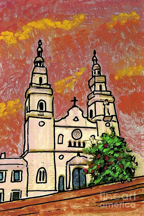 Spanish Church Photograph  - Spanish Church Fine Art Print
