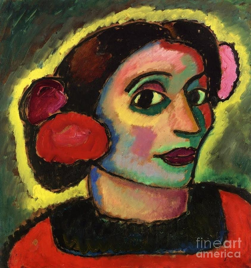Spanish  Woman  Painting  - Spanish  Woman  Fine Art Print