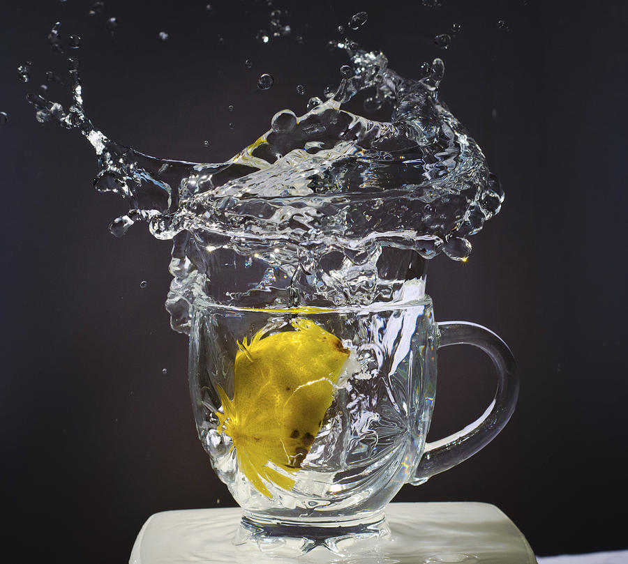 Sparkling Water Photograph