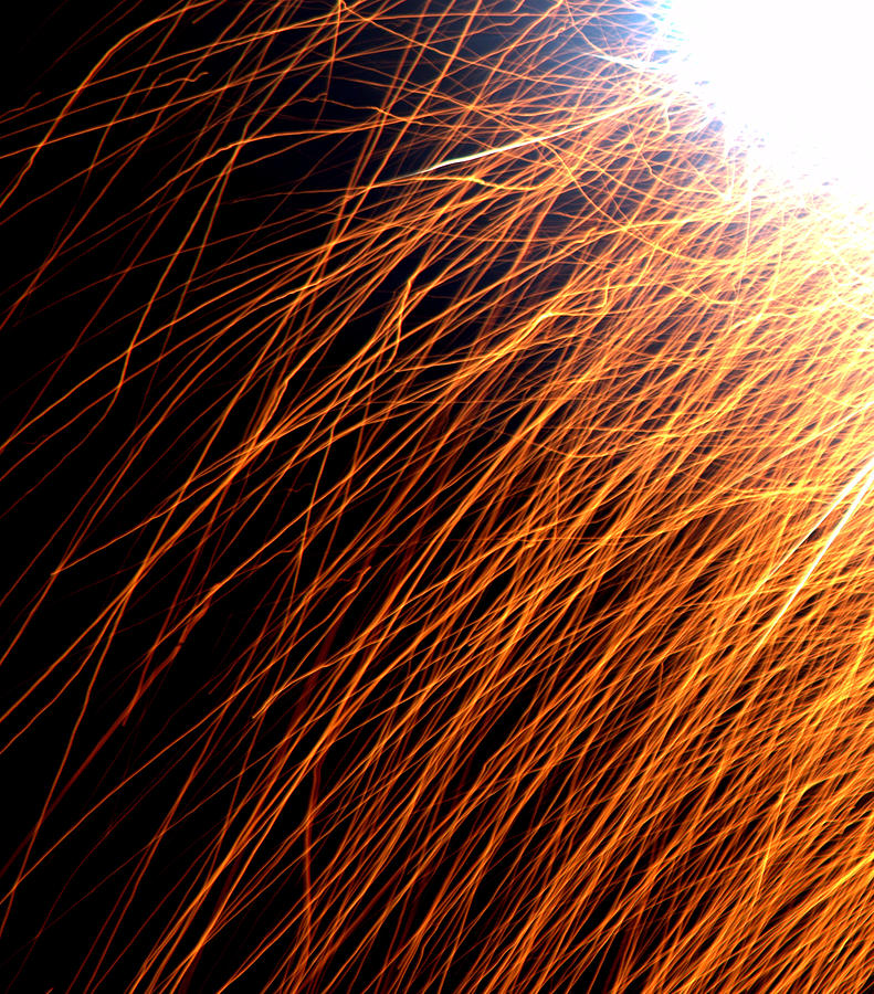 4th Of July Photograph - Sparks by JS Rose Photography
