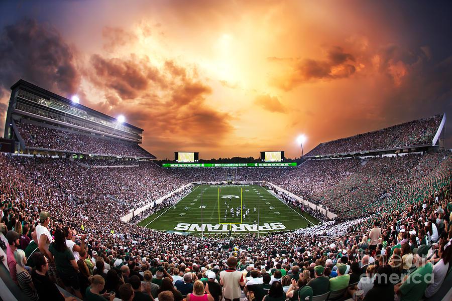 Spartan Stadium Photograph By Rey Del Rio