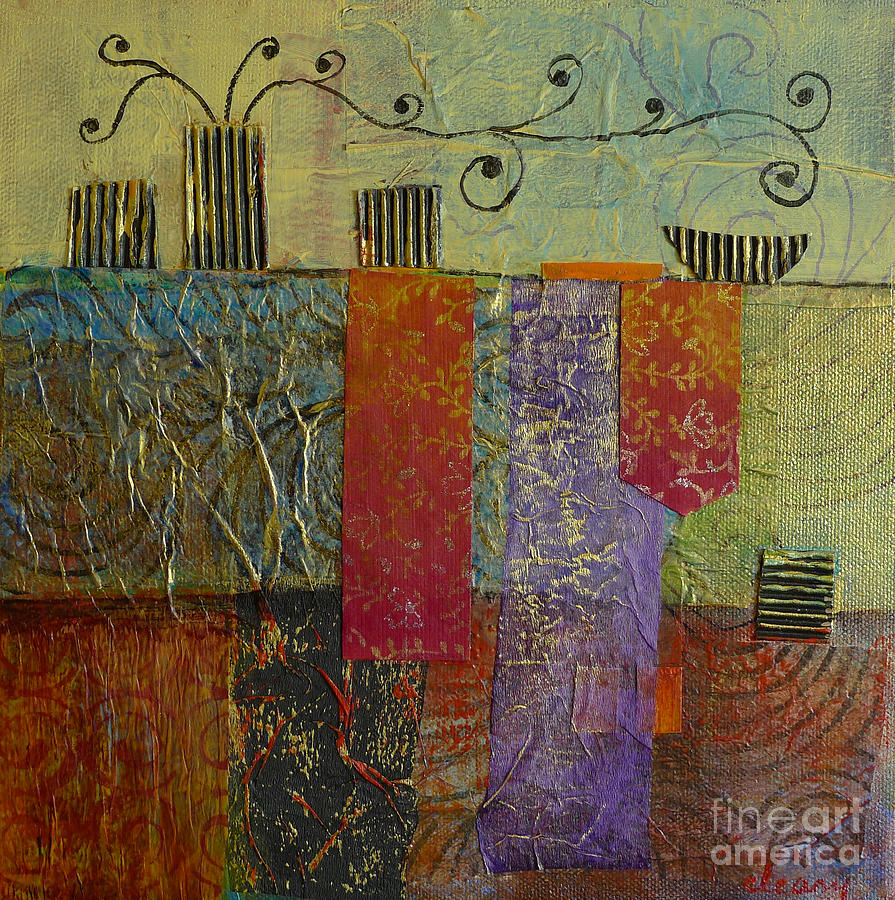 Contemporary Interior Paintings Painting - Special Occasion No. 2 by Melody Cleary