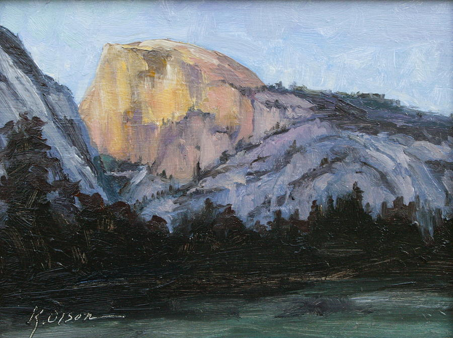 Spectacular Half Dome Painting