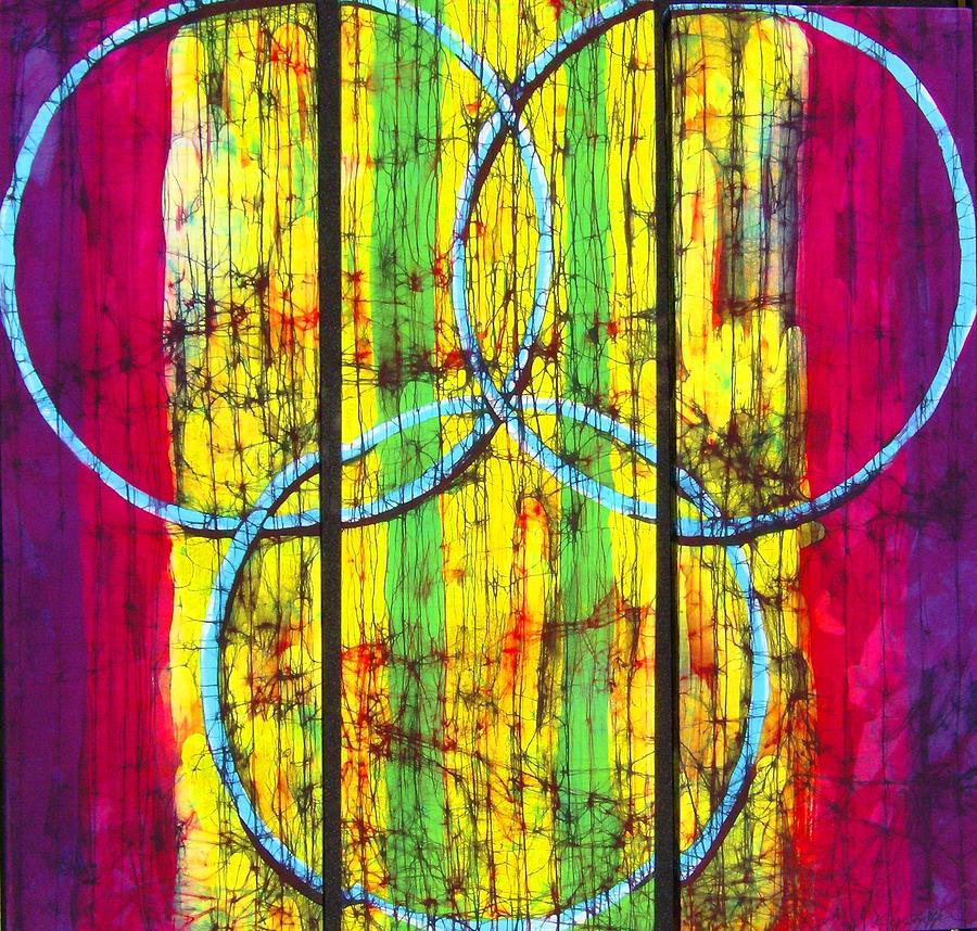 Spectrum Tapestry - Textile - Spectrum by Kay Shaffer