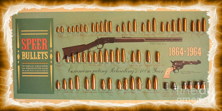 Speer Bullets Photograph  - Speer Bullets Fine Art Print