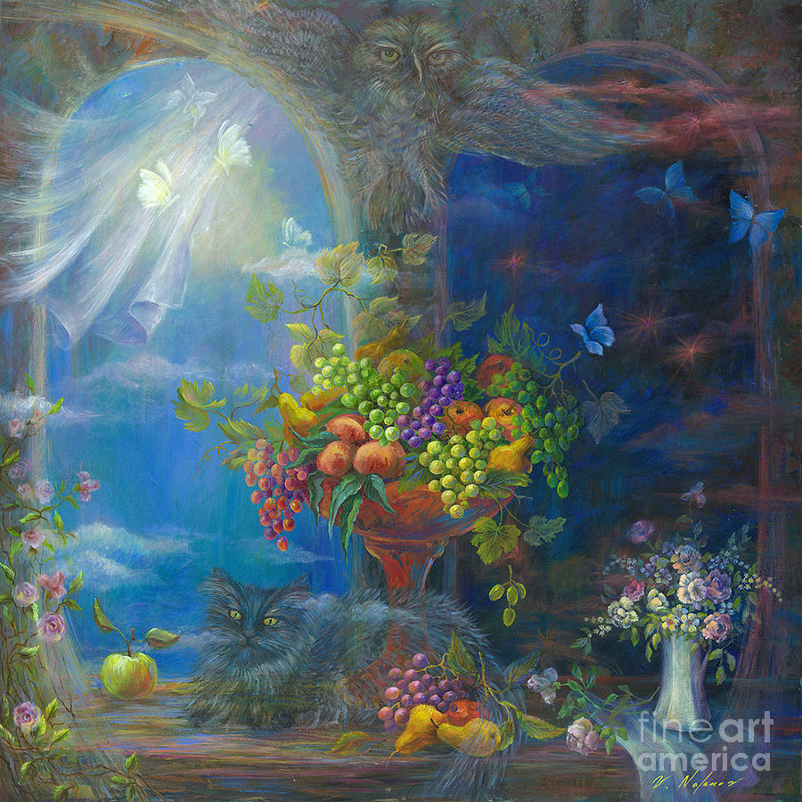 Vladimir Painting - Spells by Vladimir Nazarov