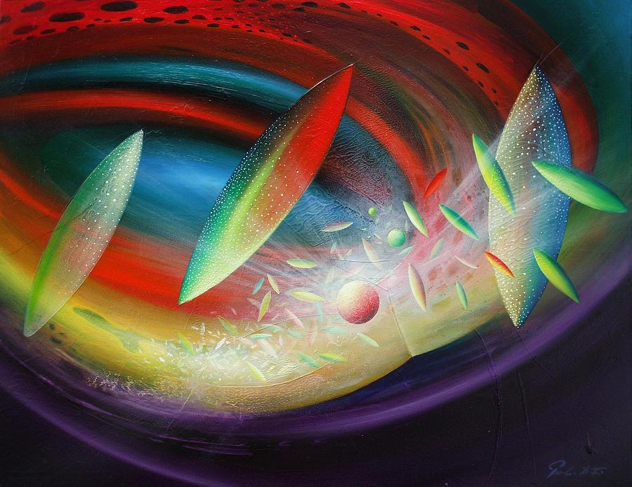 Sphere B12 Painting
