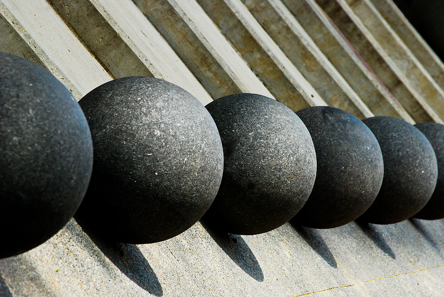 Spheres And Steps Photograph  - Spheres And Steps Fine Art Print
