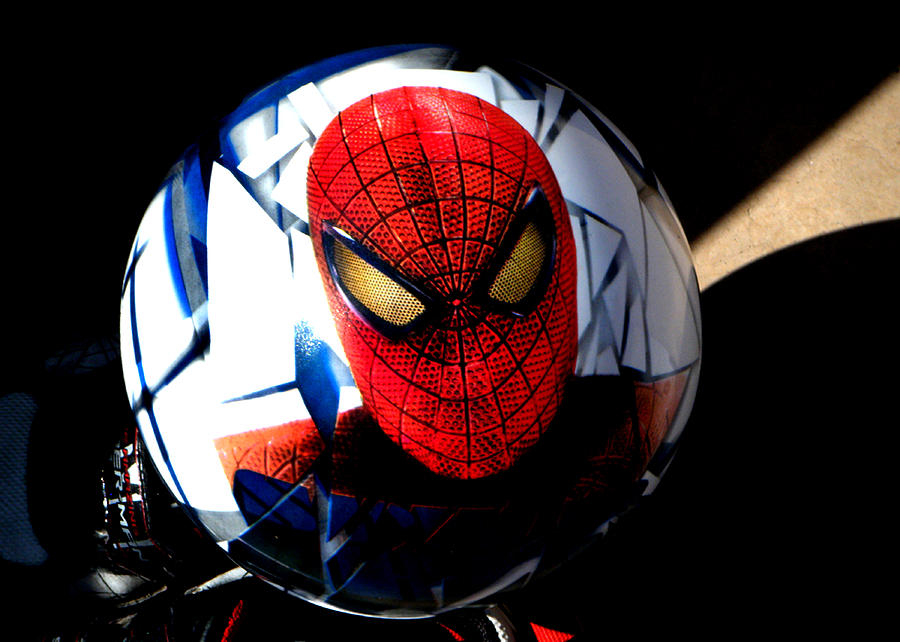 Spiderman Photograph  - Spiderman Fine Art Print