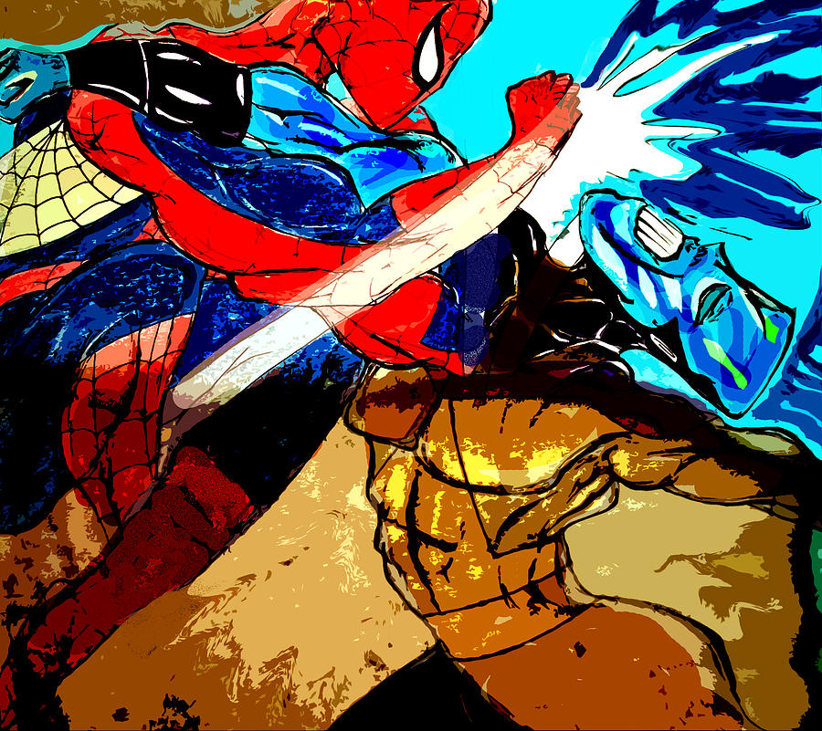 Spiderman Head Drawing With Color Spiderman vs Jar Head Drawing