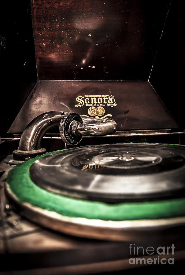 Spin That Record Photograph  - Spin That Record Fine Art Print