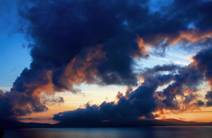 Ireland Photograph - Spiral Clouds by Aidan Moran