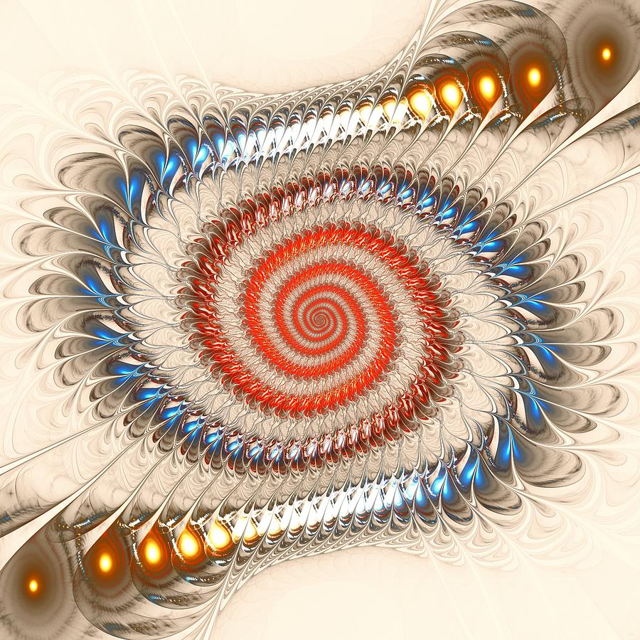Spiral Journey Digital Art