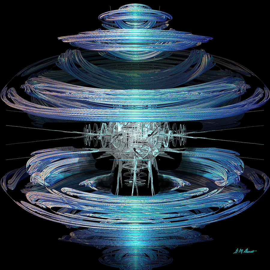 Spiral Movement Digital Art