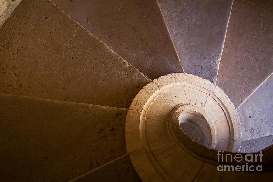 Spiral Staircase Photograph